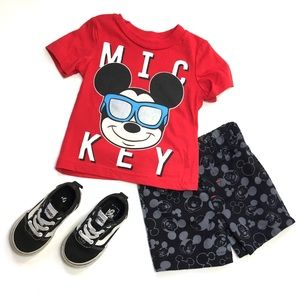 Mickey Mouse Two Piece Outfit